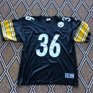 Vintage Starter Jerome Bettis Steelers Jersey